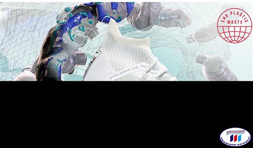 Adidas ra mắt loại vải mới từ chất thải nhựa, polyester đại dương tái chế