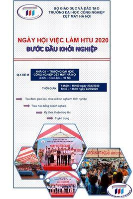 Ngày hội việc làm HTU 2020