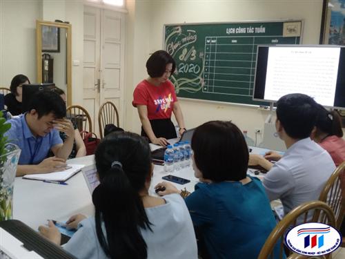 Hội thảo chia sẻ kết quả nghiên cứu đề tài khoa học cấp trường năm học 2019-2020
