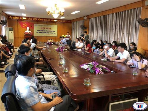 Hội nghị công bố quyết định bổ nhiệm Hiệu trưởng Trường Đại học Công Nghiệp Dệt May Hà Nội nhiệm kỳ 2020 – 2025