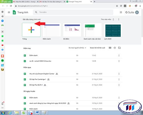 Giải pháp chia sẻ file excel sử dụng Google Sheet