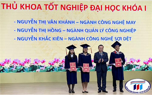 Sinh viên Trường ĐH Công nghiệp dệt may Hà Nội ra trường thu nhập 30 triệu đồng/tháng