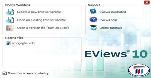 Ứng dụng phần mềm Eview vào hoạt động đánh giá kết quả học tập trong hoạt động cải tiến công tác khảo thí tại trường Đại học Công nghiệp Dệt May Hà Nội