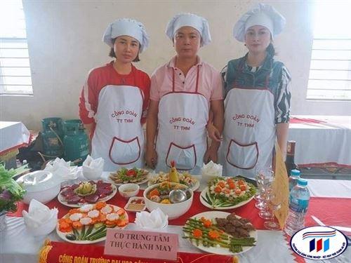 """Trung tâm THM tham gia Hội thi """"cùng nhau vào bếp"""" 2020"""