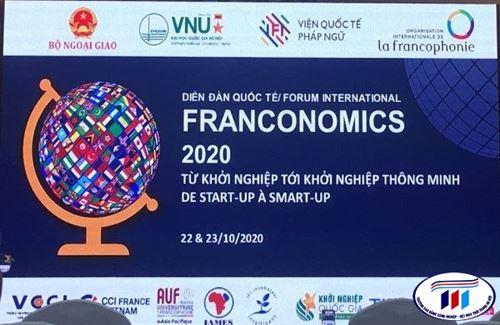 Giảng Viên Khoa Kinh Tế Tham Dự Diễn Đàn Quốc Tế Franconomics-2020 Từ Khởi Nghiệp Tới Khởi Nghiệp Thông Minh De Start -Up À Smart-Up