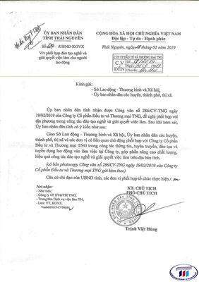 Thí sinh, SV ở Thái Nguyên học trường Đại học Công nghiệp Dệt May Hà Nội được tài trợ 100% học phí
