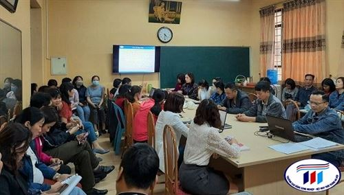 Hội nghị quy hoạch cán bộ lãnh đạo, quản lý Trung tâm Thực hành may nhiệm kỳ 2021-2026