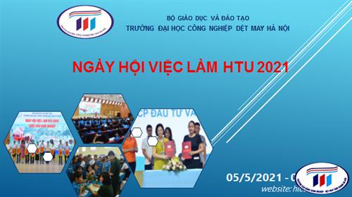 """Ngày hội việc làm HTU 2021 đã sẵn sàng """"BÙNG NỔ"""" vào ngày 06/5"""