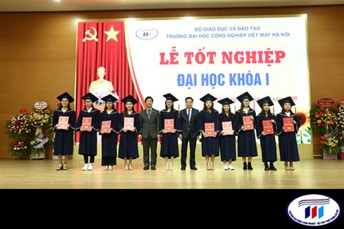 Kết quả khảo sát tình hình việc làm cựu sinh viên Đại học khóa 1 sau một năm ra trường tại trường Đại học công nghiệp Dệt May Hà Nội
