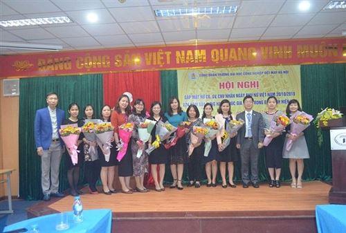 Hội nghị gặp mặt nữ cán bộ, giảng viên, công nhân viên nhân Ngày phụ nữ Việt Nam 20/10 và Tọa đàm xây dựng và giữ gìn hạnh phúc gia đình trong bối cảnh hiện nay