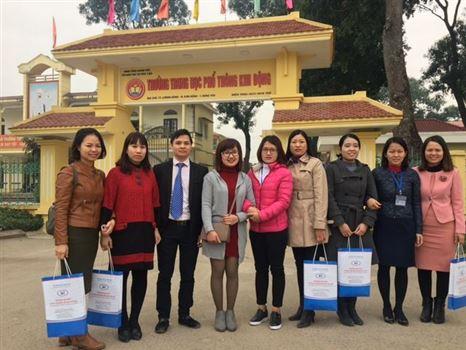 Đại học Công nghiệp Dệt May Hà Nội đẩy mạnh hoạt động tư vấn tuyển sinh năm 2018