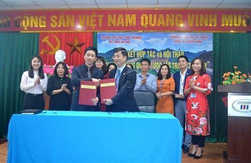 Lễ ký kết hợp tác và Hội thảo du học Trung Quốc