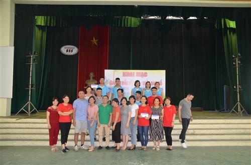 Hội thi công đoàn trường Đại học Công nghiệp Dệt May Hà Nội