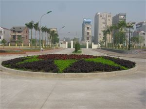 Toàn cảnh trường Đại học Công nghiệp Dệt May Hà Nội