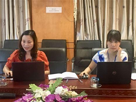 Nghiệm thu đề tài nghiên cứu khoa học cấp Trường,  chủ nhiệm ThS. Nguyễn Thị Thu Hằng , phòng Đào tạo