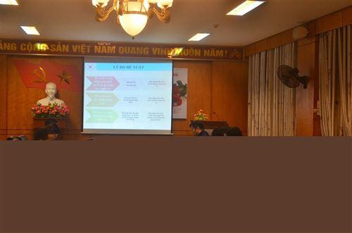 Duyệt đề xuất đề tài nghiên cứu cấp Tập đoàn của TS. Bùi Anh Tuấn