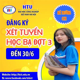 HTU tiếp tục nhận hồ sơ đăng ký xét tuyển học bạ đến ngày 30/6