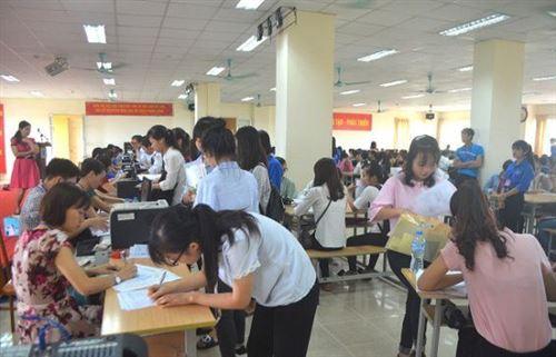 Hướng dẫn thủ tục nhập học