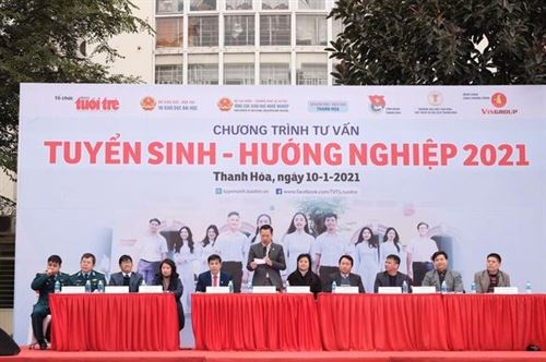 Trường Đại học Công nghiệp Dệt May Hà Nội tham gia chương trình Tư vấn  Tuyển sinh – Hướng nghiệp năm 2021