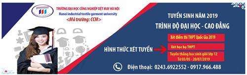 Phương thức xét tuyển Đại học, Cao đẳng năm 2019