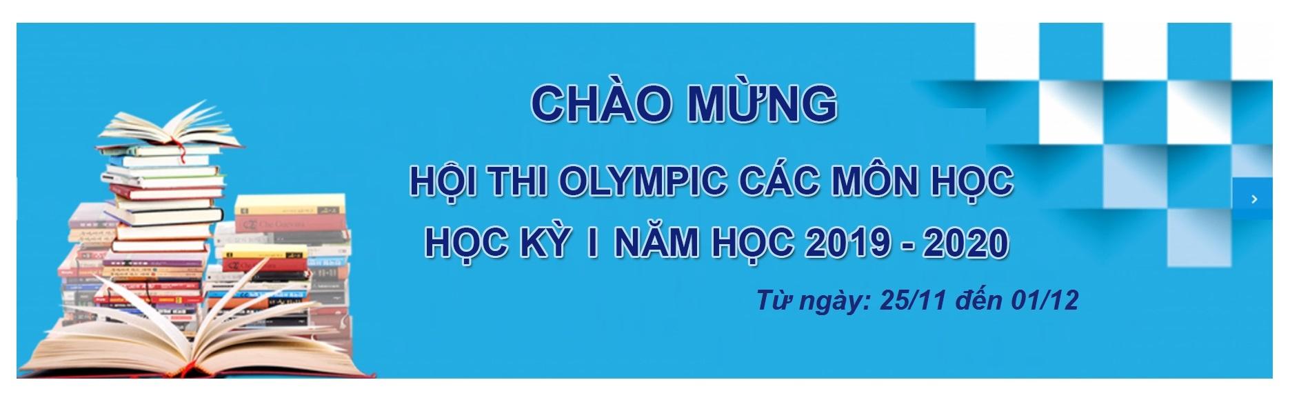 Chào mừng hội thi Olympic